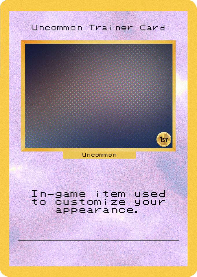 Uncommon Trainer Card