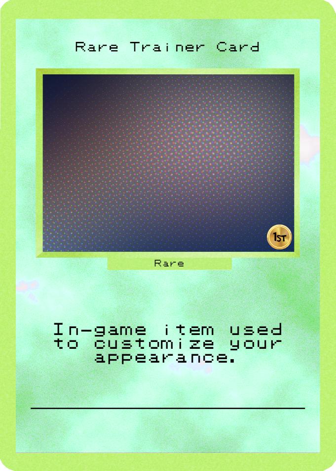 Rare Trainer Card