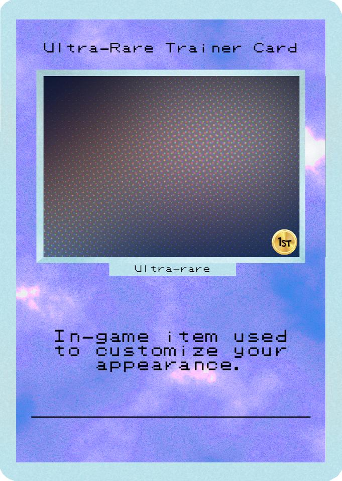 Ultra-Rare Trainer Card