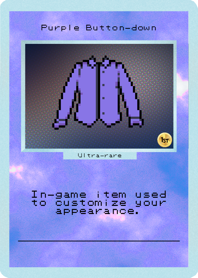 Purple Button-down